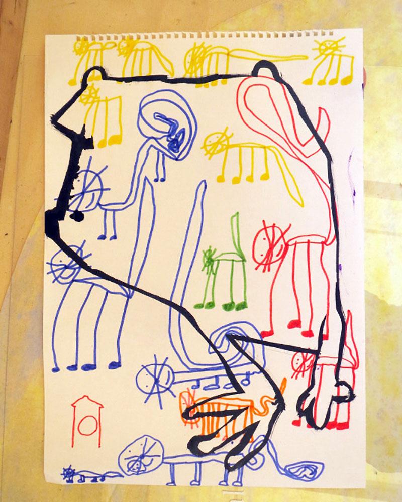 Rane a pezzetti, 2014 - Chiara Armellini